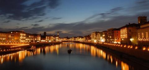 Der Juni in Pisa