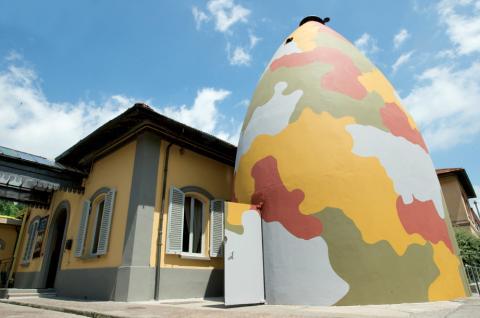 In der Toskana befindet sich der größte Luftwaffen-Bunker Europas