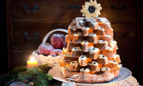 Typisches Weihnachtsgebäck in Italien
