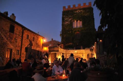 Castello Ginori - das mittelalterliche Schloss Ginori