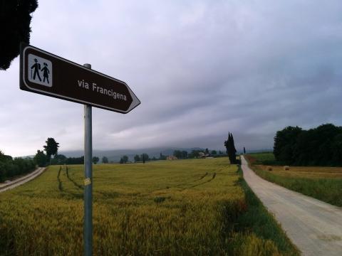 Serieus wandelen in Toscane: de via Francigena, wandelroute Toscane (deel 1)
