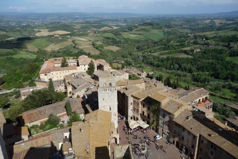 Serieus wandelen in Toscane: de via Francigena, wandelroute Toscane (deel 2)