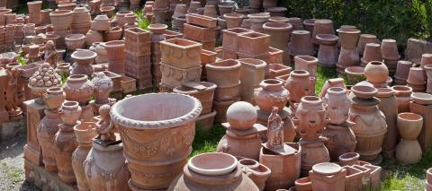 Toscaans aardewerk uit Impruneta