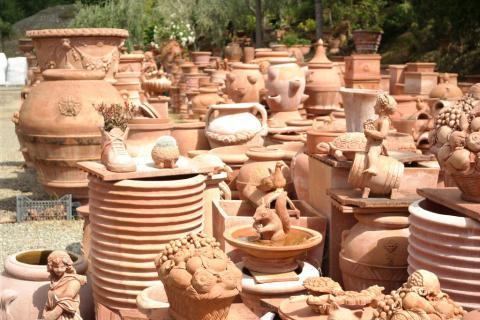 Toskanische Keramik aus Impruneta