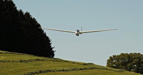 Toscane vanuit de lucht, ga zweefvliegen