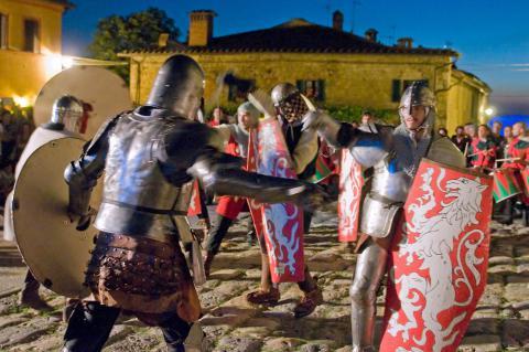 Monteriggioni ist wieder im Mittelalter!