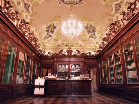 Die Apotheke Santa Maria Novella in Florenz