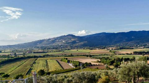 Deel 2 van de pelgrimsroute Via Lauretana van Siena naar Cortona