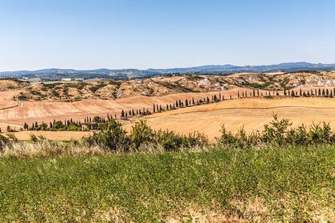 Wahres Wandern in der Toskana: Teil 1 des Pilgerweges Via Lauretana von Siena nach Cortona