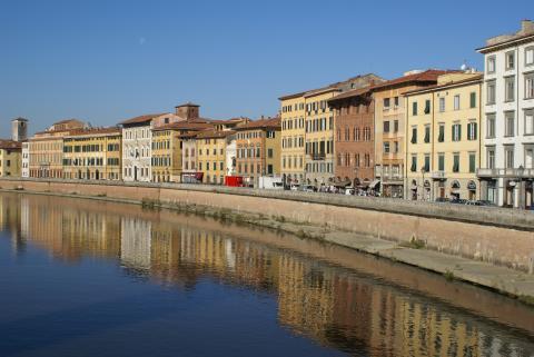 Wijs op reis naar Italië