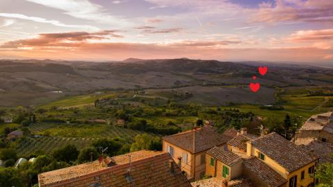 Romantische nestjes voor een Toscaanse vakantie met je Valentijn