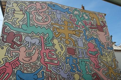 Keith Haring in Pisa