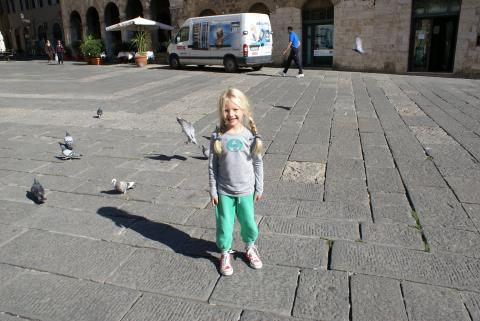 3 Trips met kids in Toscane