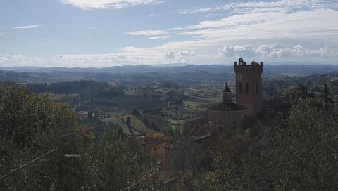 Herausforderndes Wandern in der Toskana: die Wanderroute Via Francigena, Toskana (Teil 1)